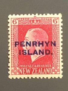 Penrhyn Is. 23 F-VF MH. Scott $ 5.75