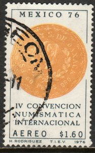 MEXICO C519 International Numismatic Convention USED. F-VF. (791)
