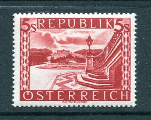 Austria  Sc #499 Mint Hinged 1946