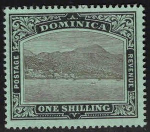 DOMINICA Scott 44 MH*