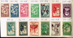 ALGERIA STAMP USED STAMPS COLLECTION LOT   #6