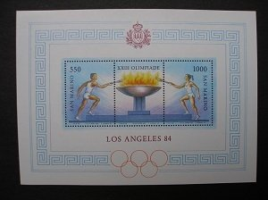 1984 - Summer olympics Los Angeles - MNH