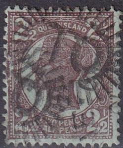 Queensland #116 F-VF Used CV $3.50 (A19252)