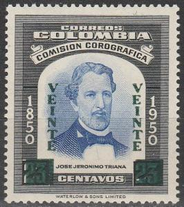 Colombia #692  MNH (S9579)