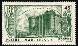 Martinique (Scott B4) Mint OG VF hr...Buy before prices go up!