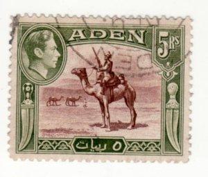 Aden # 26 Used, CV $20   .....  0020031