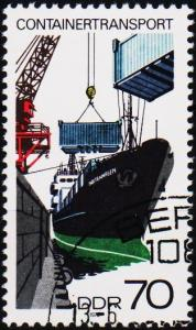 Germany(DDR). 1978 70pf  S.G.E2044 Fine Used