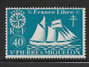 Saint Pierre and Miquelon Mint Never Hinged [4134]