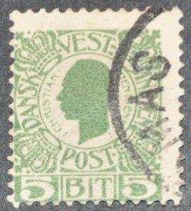 DYNAMITE Stamps: Danish West Indies Scott #31 - USED