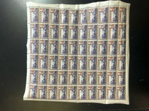 Ceylon #264 - #274 Very Fine Never Hinged Full Sheets Of 60