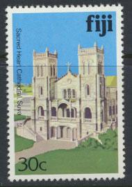 Fiji SG 590A  SC# 419  MNH  Architecture  see scan