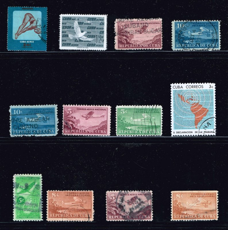 CUBA STAMP Used Stamps Collection Lot  #1