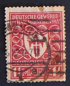 Postage stamp, Germany, №8-(12G-4IR)
