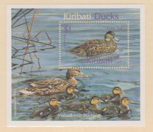 Kiribati Scott #778 Stamp - Mint NH Souvenir Sheet