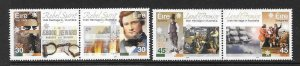 IRELAND SG1415/8 2001 IRISH HERITAGE IN AUSTRALIA MNH