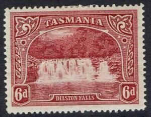 TASMANIA 1899 DILSTON FALLS 6D  WMK MULTI TAS