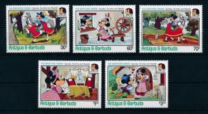 [22115] Antigua & Barbuda 1985 Disney 200th Birthday Brothers Grimm MNH