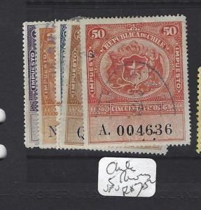 CHILE  (PP0409B)  REVENUES 5 DIFF  VFU