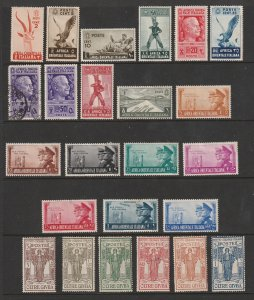 Italian Colonies a small mainly MH lot