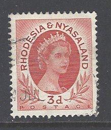 Rhodesia & Nyasaland Sc # 144 used (RS)