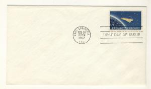 US - 1962 - Scott 1193 FDC - Project Mercury