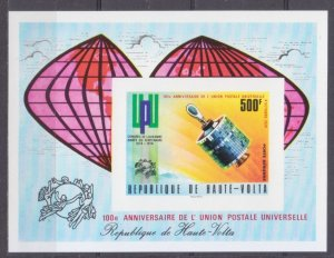1974 Upper Volta 523/B26b Satellite / UPU 20,00 €