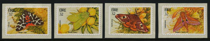 Ireland 935-8 MNH Insects, Moths