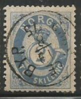 Norway Scott #17 Stamp - Used Single