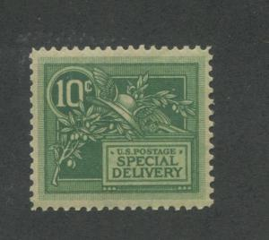 1908 US Special Deliver Stamp #E7 Mint Never Hinged F/VF Reperf