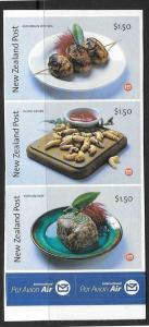NEW ZEALAND SG2689/91 2004 WILD FOODS S/A MNH