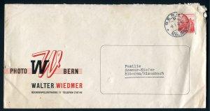 1947 Walter Wiedmer Photo (Photographer?) - Bern, Switzerland
