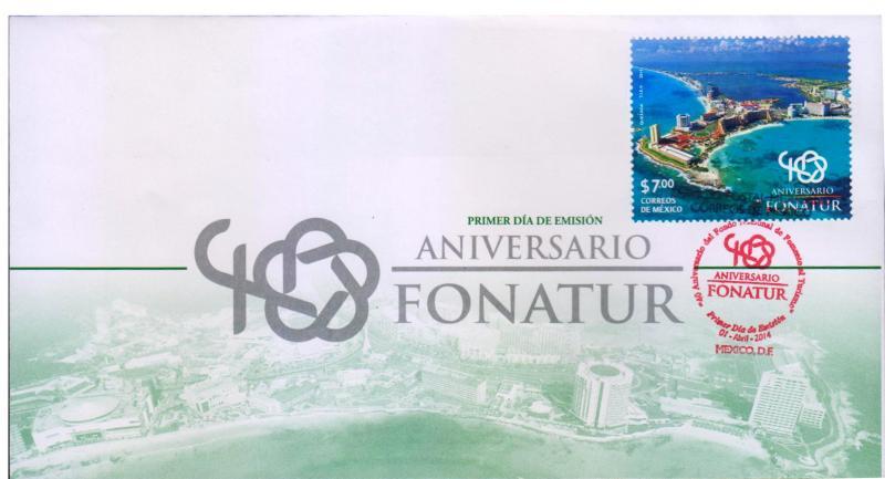 G)2014 MEXICO, BEACH-SEA-RESORTS, FONATUR'S 4OTH ANNIVERSARY