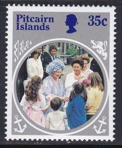 Pitcairn Isl # 254, Queen Mothers Birthday NH
