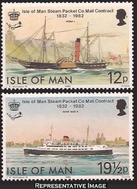 Isle of Man Scott 219-220