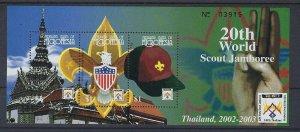 2002 Micronesia World Boy Scout Jamboree Thai m/s 3