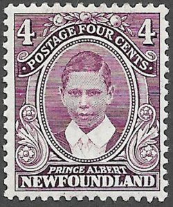 Newfoundland Scott Number 107 FVF HR