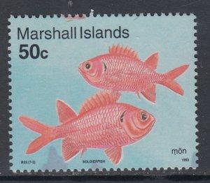 Marshall Islands 425 Fish MNH VF