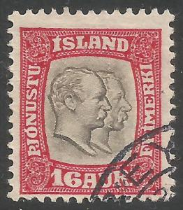 ICELAND O36 VFU Z3807