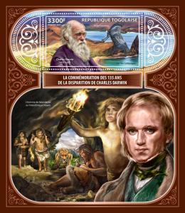 Z08 TG17422b Togo 2017 Charles Darwin MNH ** Postfrisch