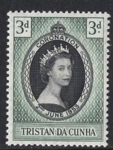 Tristan da Cunha  #13 1953  MNH  coronation
