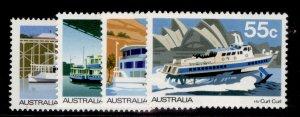 AUSTRALIA QEII SG704-707, 1979 ferries set, NH MINT.