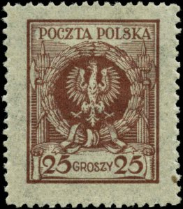 Poland Scott #222 Mint Hinged