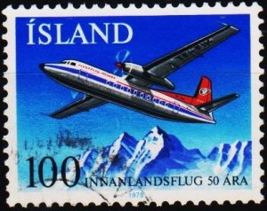 Iceland. 1978 100k S.G.564 Fine Used