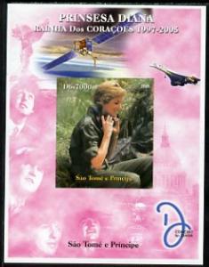 St Thomas & Prince Islands 2005 Princess Diana - Quee...