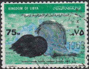 Libya  #324    Used
