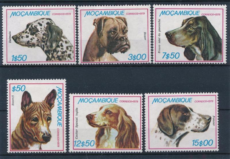 [60276] Mozambique 1979 Animals Dogs MLH