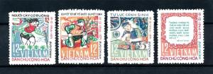 [93700] Vietnam North 1972 National Structure  MNH