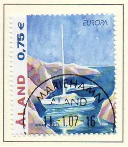 Aland Finland Sc 224 2004 Europa  stamp used