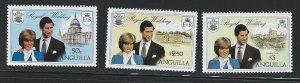 Anguilla   mnh sc  444 - 446