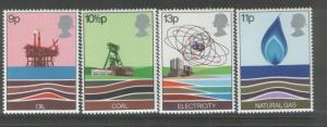 Great Britain 1978 Energy (4) Scott #